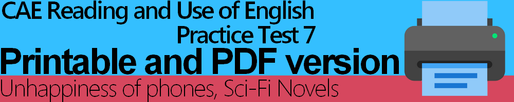 cae use of english and reading pdf